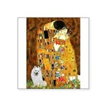 Kiss / Eskimo Spitz #1 Square Sticker 3