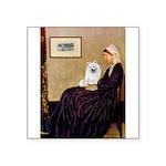 Whistlers / Eskimo Spitz #1 Square Sticker 3