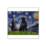 Starry Night FCR Square Sticker 3