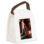 Accolade / Flat Coated Retrie Canvas Lunch Bag
