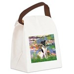 Lilies / Smooth T (#1) Canvas Lunch Bag