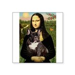 Mona / Fr Bulldog(brin) Square Sticker 3