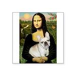 Mona / Fr Bulldog (f) Square Sticker 3