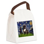 Starry / Fr Bulldog(brin) Canvas Lunch Bag