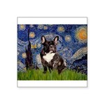Starry / Fr Bulldog(brin) Square Sticker 3