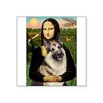 Mona's G-Shepherd Square Sticker 3