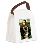 Mona's G-Shepherd Canvas Lunch Bag