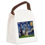 Starry / German Shepherd 10 Canvas Lunch Bag