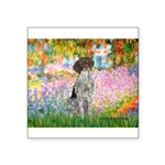 Garden/German Pointer Square Sticker 3
