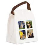 Famous Goldens (cl) Canvas Lunch Bag
