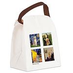 Famous Goldens (cl) Canvas Lunch Bag