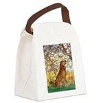 Spring & Golden (#12) Canvas Lunch Bag