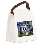 Starry / Gr Dane (h) Canvas Lunch Bag