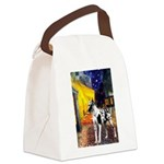 Cafe / Gr Dane (h) Canvas Lunch Bag