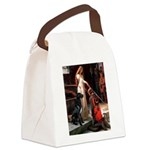 Accolade / Gr Dane (bl) Canvas Lunch Bag