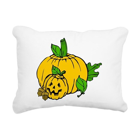 pumpkin.png Rectangular Canvas Pillow