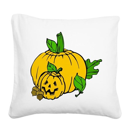 pumpkin.png Square Canvas Pillow