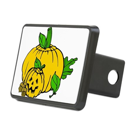 pumpkin.png Rectangular Hitch Cover