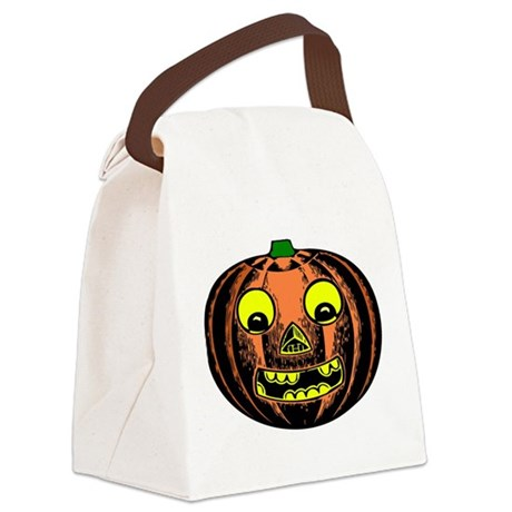 jackolantern2ab.png Canvas Lunch Bag