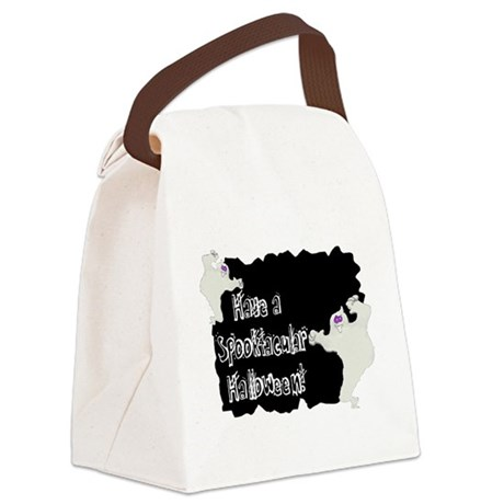 ghosts2a.png Canvas Lunch Bag