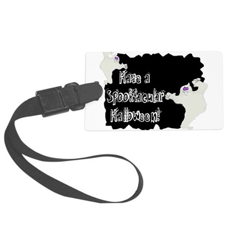 ghosts2a.png Large Luggage Tag