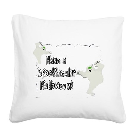 ghosts2.png Square Canvas Pillow