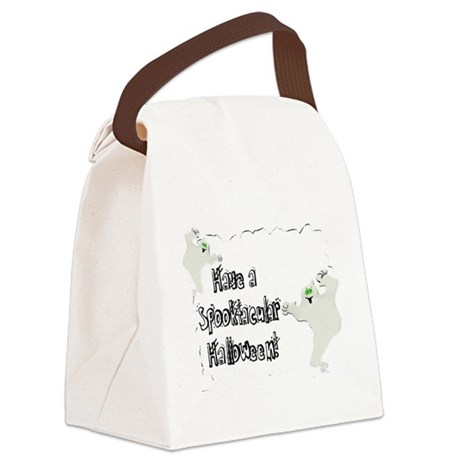 ghosts2.png Canvas Lunch Bag
