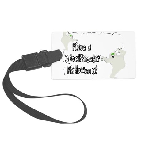 ghosts2.png Large Luggage Tag