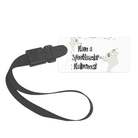 ghosts2.png Small Luggage Tag