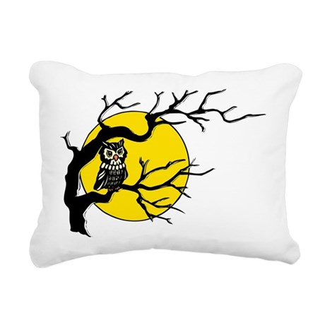 Owlmoon3.png Rectangular Canvas Pillow