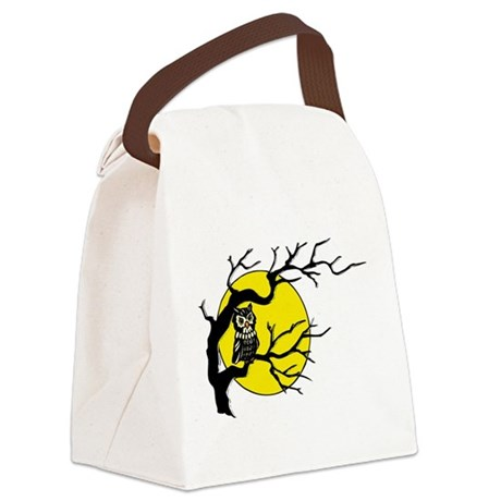 Owlmoon3.png Canvas Lunch Bag
