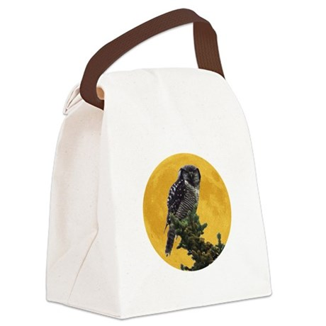 owlmoon.png Canvas Lunch Bag