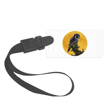 owlmoon.png Small Luggage Tag