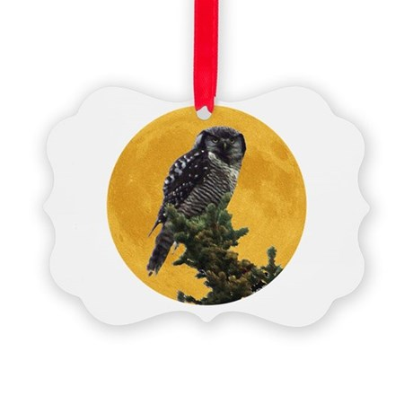 owlmoon.png Picture Ornament