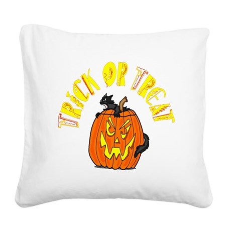 pumkin4.png Square Canvas Pillow