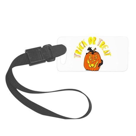 pumkin4.png Small Luggage Tag