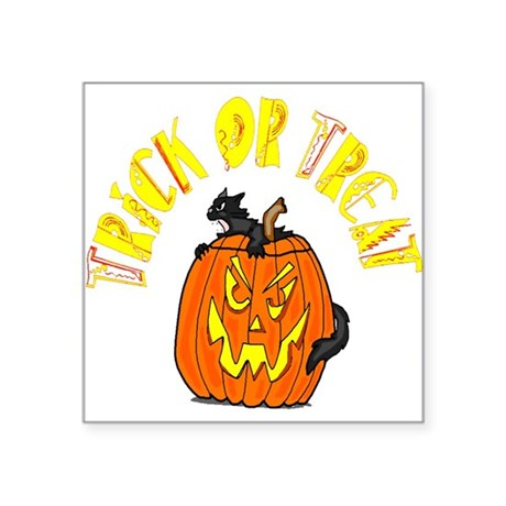 "pumkin4.png Square Sticker 3"" x 3"""
