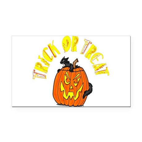 pumkin4.png Rectangle Car Magnet
