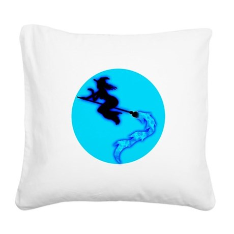 witch4.png Square Canvas Pillow