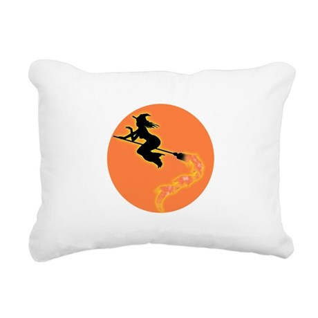witch3.png Rectangular Canvas Pillow