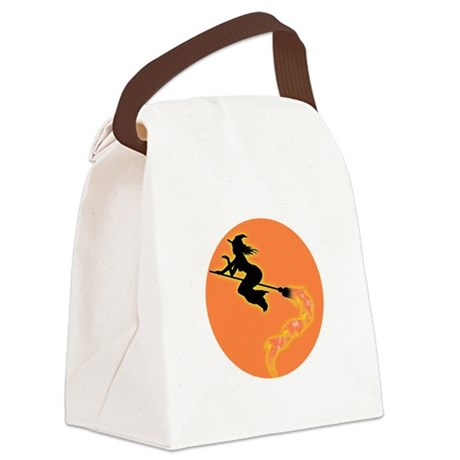 witch3.png Canvas Lunch Bag
