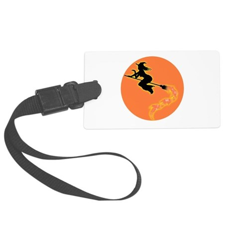 witch3.png Large Luggage Tag