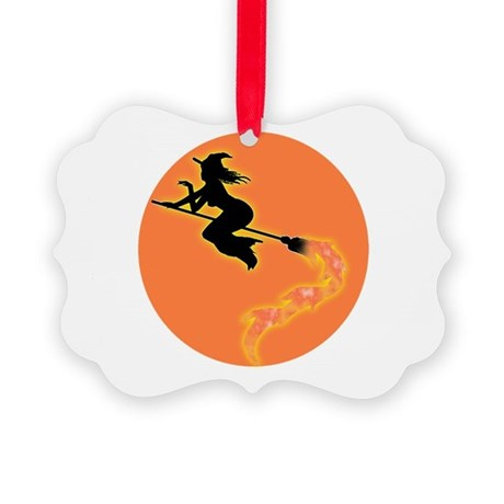 witch3.png Picture Ornament