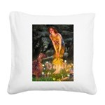 Fairies / Irish S Square Canvas Pillow