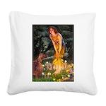 Fairies / Irish S Square Canvas Pillow