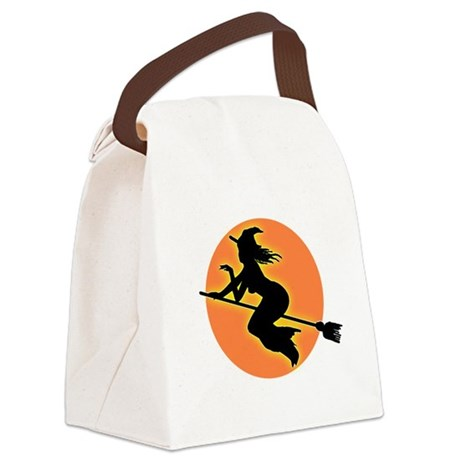 witch.png Canvas Lunch Bag