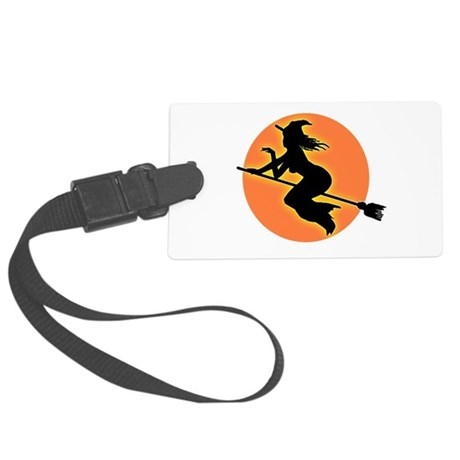 witch.png Large Luggage Tag