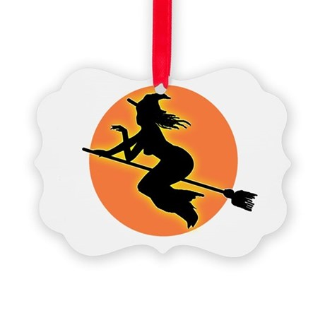 witch.png Picture Ornament