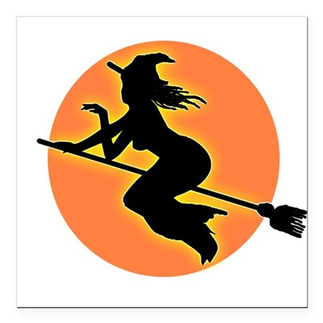 "witch.png Square Car Magnet 3"" x 3"""