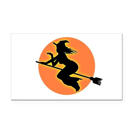 witch.png Rectangle Car Magnet